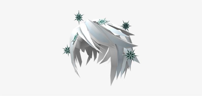 Frozen Snowflake Hair Frozen Snowflake Hair Roblox Transparent