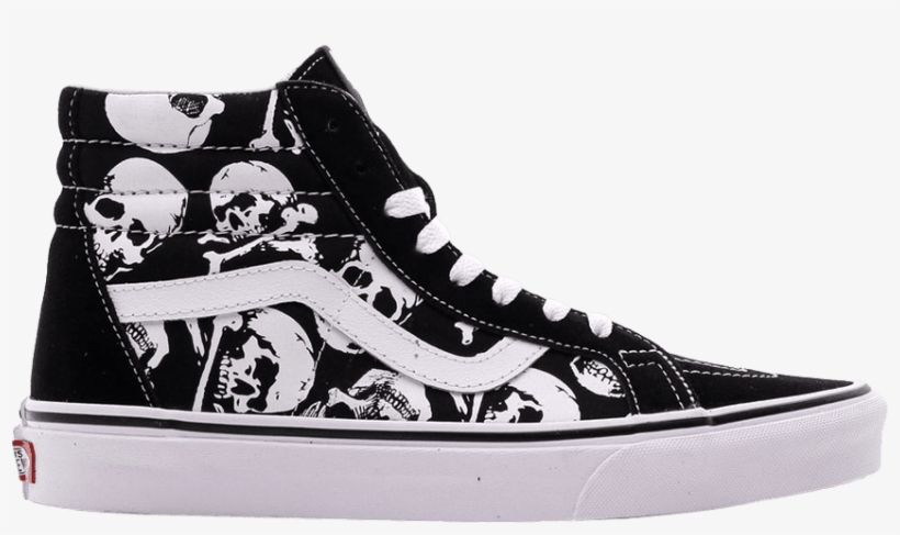 a2644836429 Sk8-hi Reissue  skulls  - Vans High Top Skulls Transparent PNG ...
