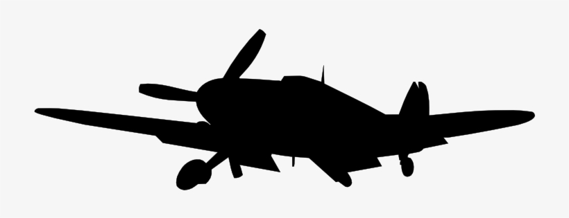 Clipart Airplane Silhouette World War 2 Plane Silhouette