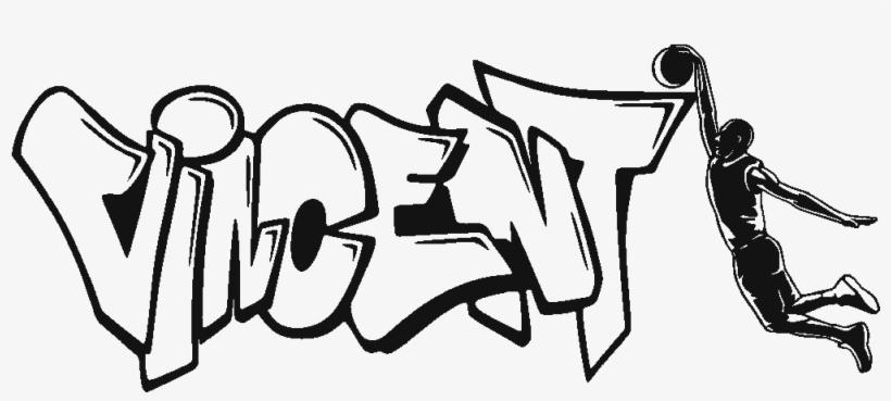 Gambar Grafiti Kartun Sonic