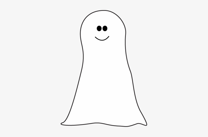 Cute Ghost Clipart Ghost Leg Clipart Black And White Transparent Png 341x462 Free Download On Nicepng
