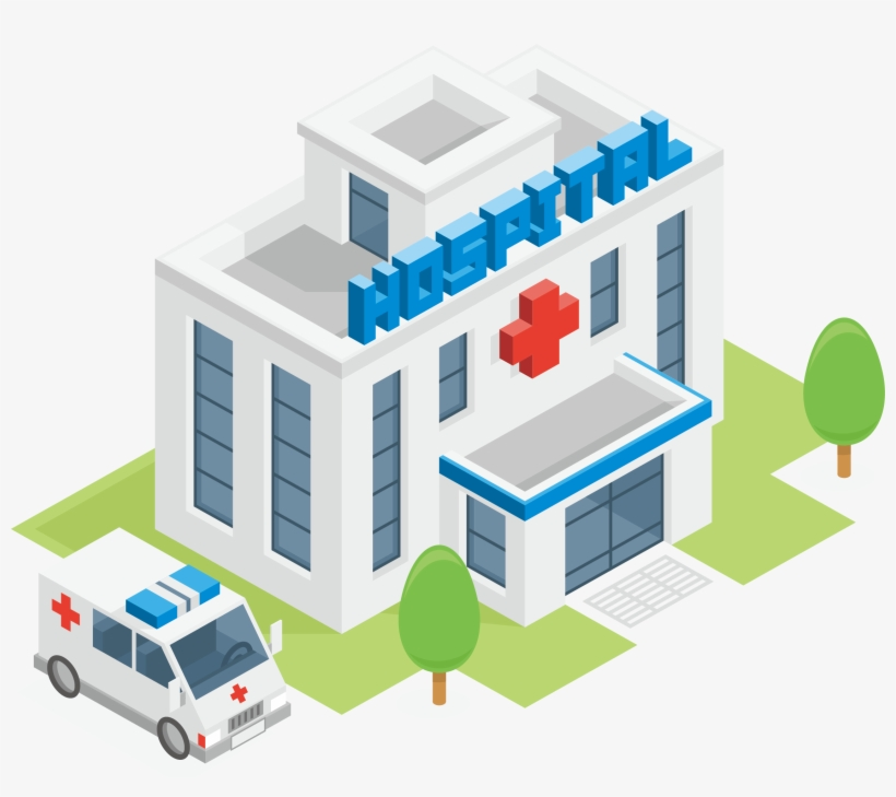 Clip Freeuse Library Ambulance Clipart Hospital - Hospital Png Transparent  PNG - 2252x1894 - Free Download on NicePNG