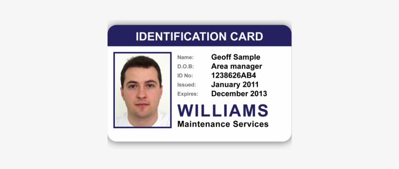 Pvc Id Card Template Png Transparent Png 456x268 Free Download