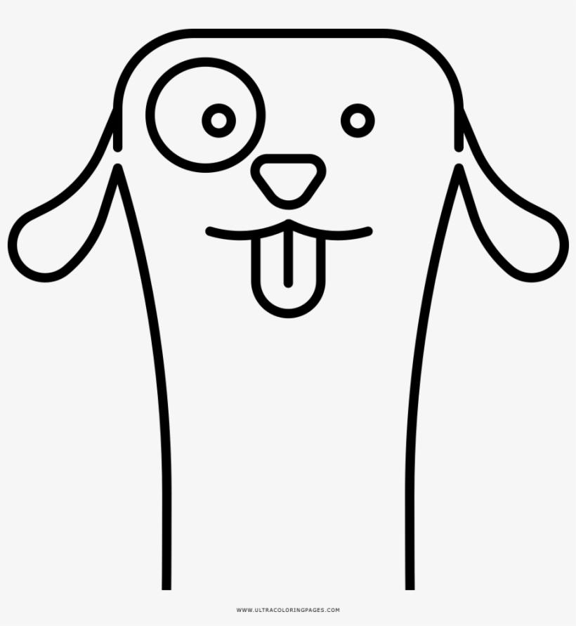 Dog Face Coloring Page Para Colorir Carinha Do Cachorro