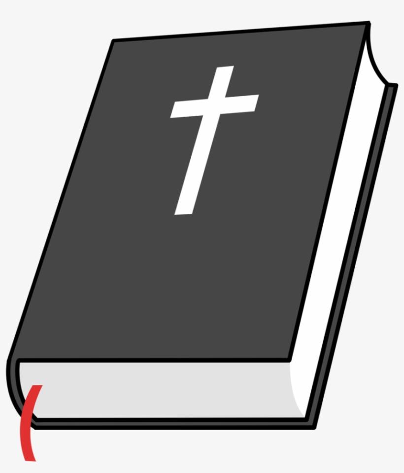Holy Bible And Cross Clipart 4 - Cartoon Bible No ...