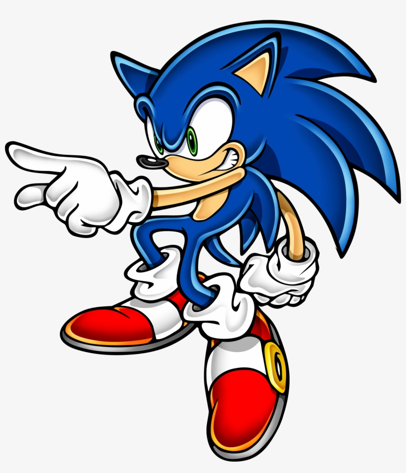 Sonic Art Assets Dvd Sonic The Hedgehog Png Transparent Png 1657x1847 Free Download On Nicepng
