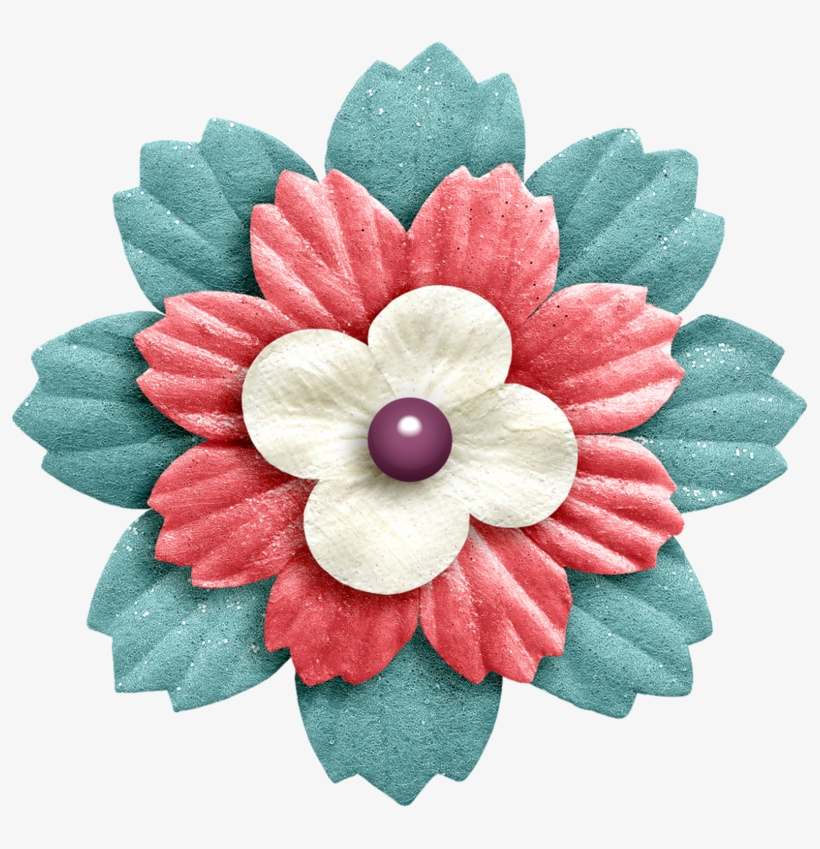 Flower Clipart Scrapbook Flower Clipart For Scrapbooking Transparent Png 800x769 Free Download On Nicepng