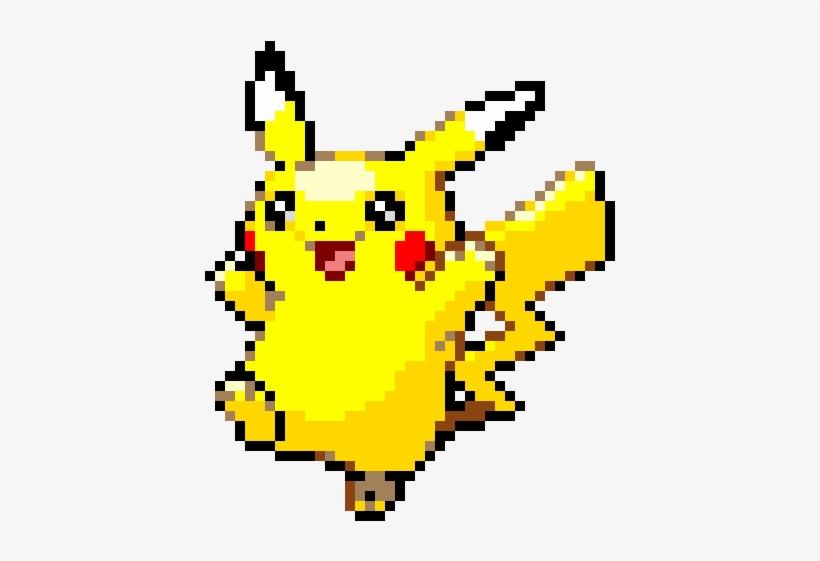 Pikachu Pixel Art Pokemon Gold Pikachu Pixel Art