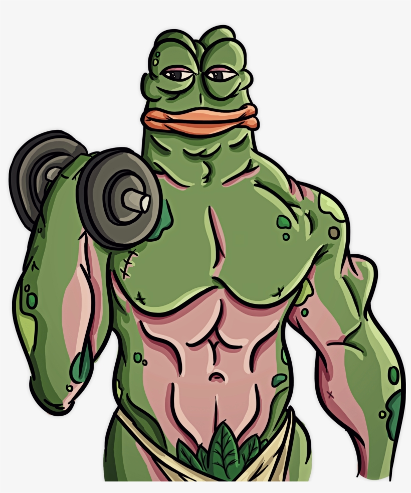 Draw A Custom Rare Pepe The Frog Rare Pepe Transparent Png