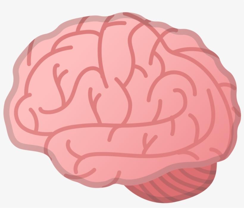 Download Svg Download Png - Brain Emoji Transparent