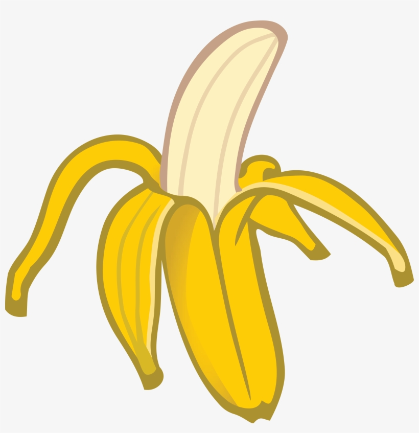 Free Clipart Of A Banana Banana Clipart Transparent Png 4000x3941 Free Download On Nicepng