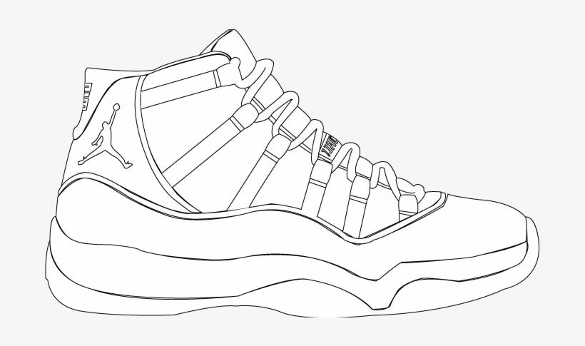 meet 5fa1c e3e4f Drawn Jordania Concord - Jordan 11 Shoe Drawings