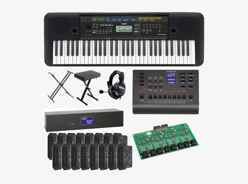 Yamaha 16 Student Piano Lab - Yamaha Psr-e353 61-key Lc4