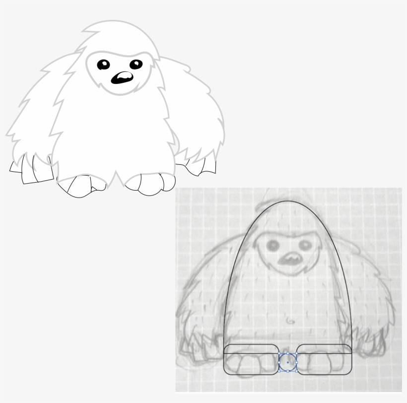 Abominable Snowman Cartoon Transparent Png 6569x6188 Free Download On Nicepng