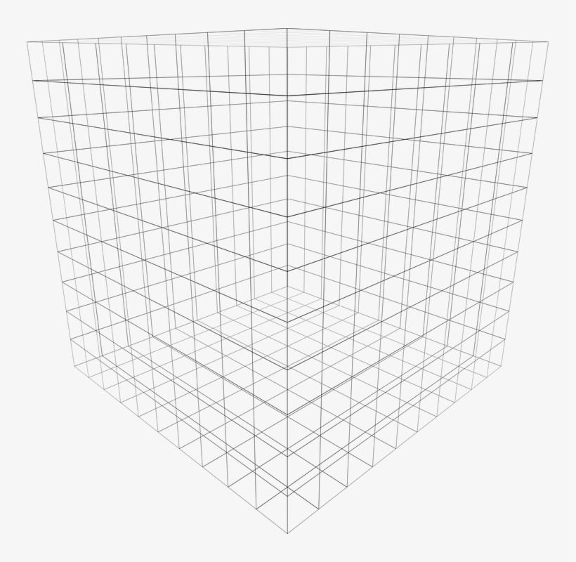 For Simplicity, Let's Assume That The 3d Cube Is Actually