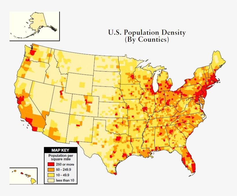 Us Population Heat Map Stylish Decoration Population United States - Heat-map-us