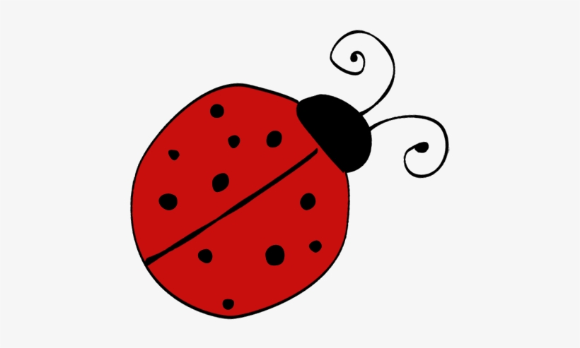 Single Ladybug Clipart - Ladybug Free Clipart Transparent PNG - 464x415 -  Free Download On NicePNG