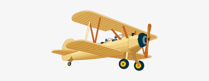 Library Vintage Airplane Vector Png