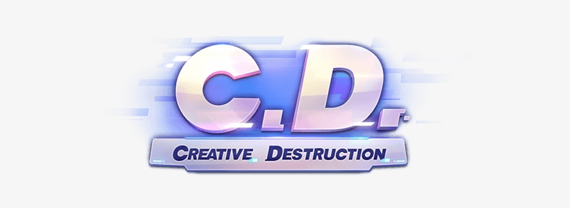 Play Creative Destruction On Pc Creative Destruction Game Logo Transparent Png 558x220 Free Download On Nicepng