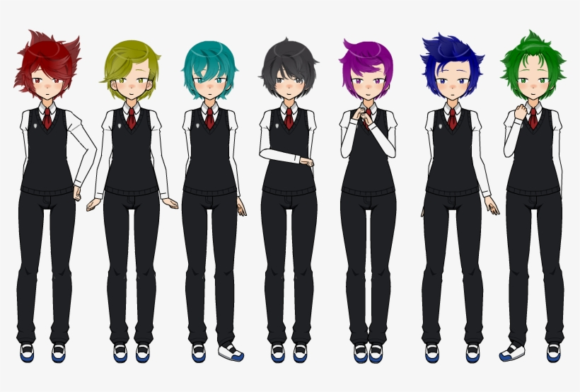 Male Students Tmp Yandere Simulator Male Transparent Png