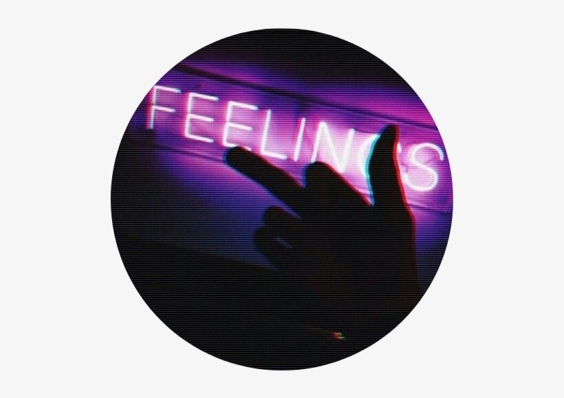 Feelings Fuck Purple Aesthetic Tumblr Feelings Tumblr - Feelings With  Middle Finger