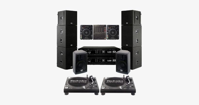 Dj Sound Generator On Rent Light Decoration - Dj System Image Png