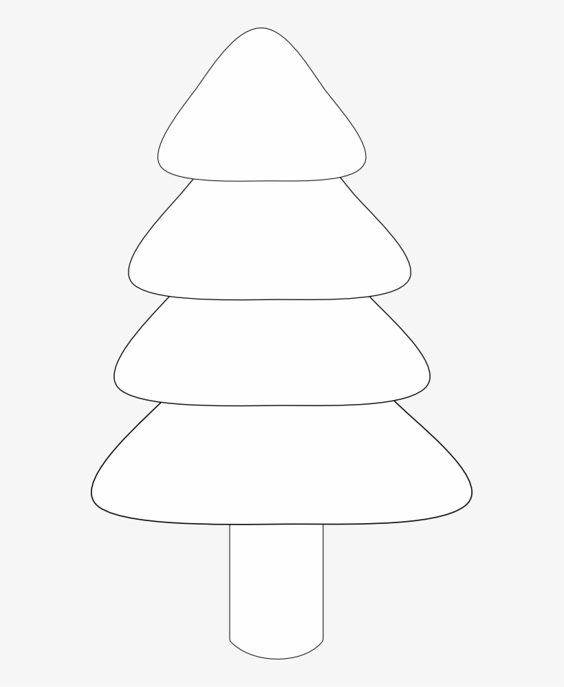 Black And White Christmas Clipart.Freeuse Stock Black And White Christmas Tree Clipart