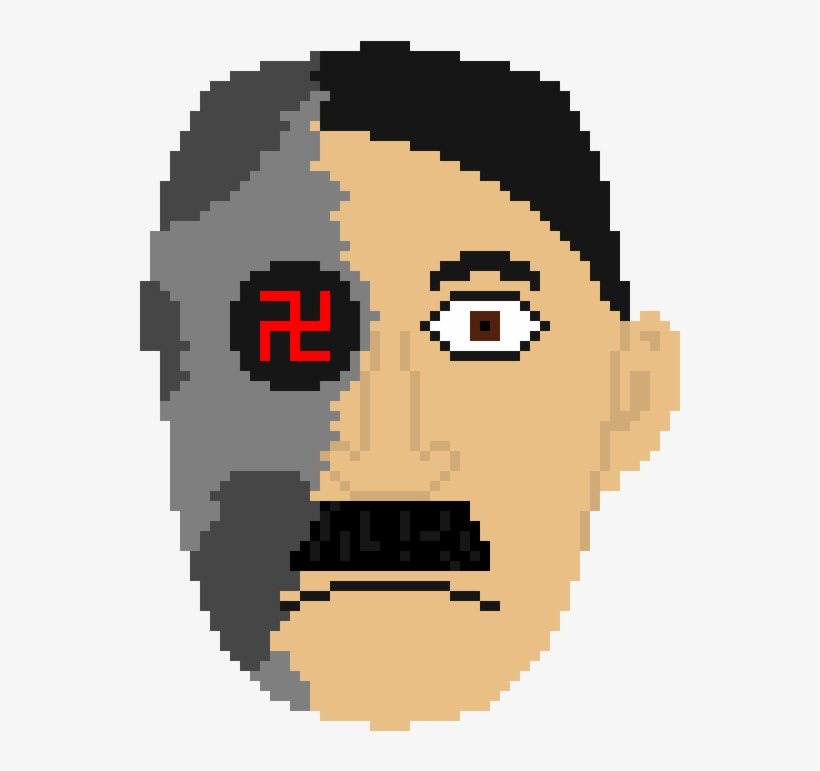 Mecha Hitler - Pixel Art Transparent PNG - 760x870 - Free Download