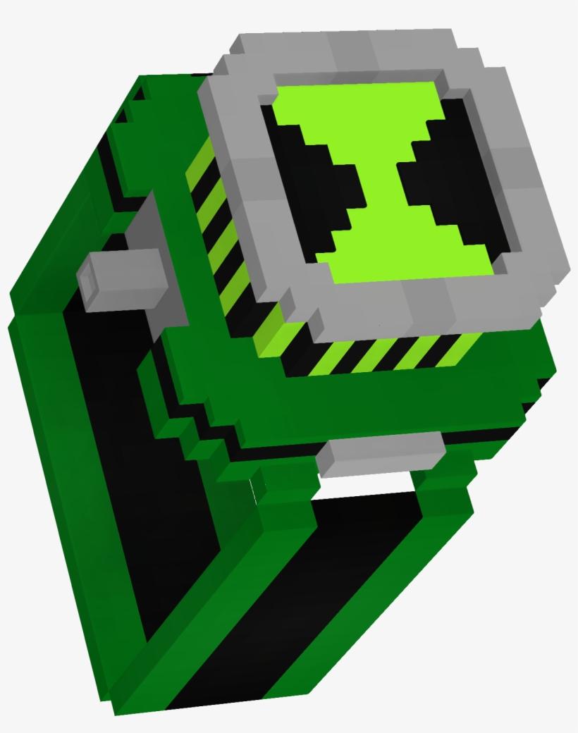 N11qofqx - Skin Minecraft Ben 11 Transparent PNG - 11x11 - Free