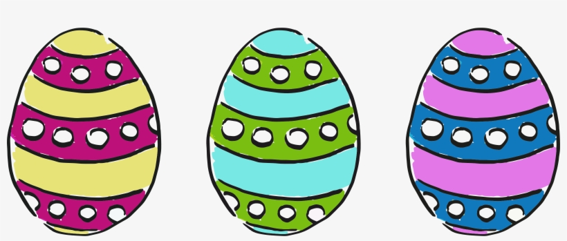 Free Clipart Easter Eggs Clipartfest Picture Source Transperent Easter Eggs Transparent Png 2400x906 Free Download On Nicepng
