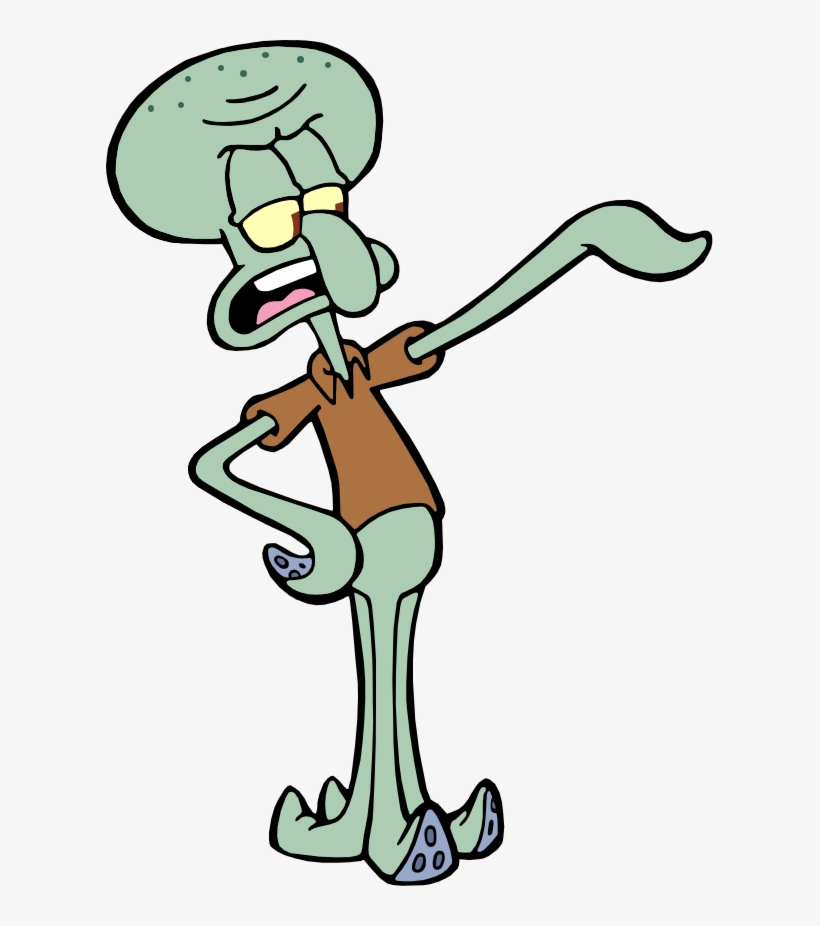 Squidward Tentacles Png - Squidward From Spongebob ...