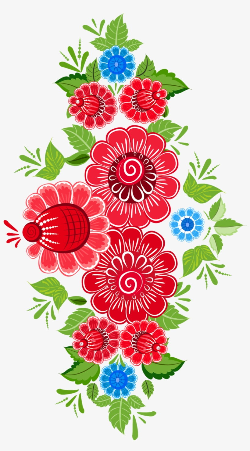 Royalty Free Download Flower Ornament Art Floral Design Mexican Flowers Clipart Png Transparent Png 1131x1600 Free Download On Nicepng
