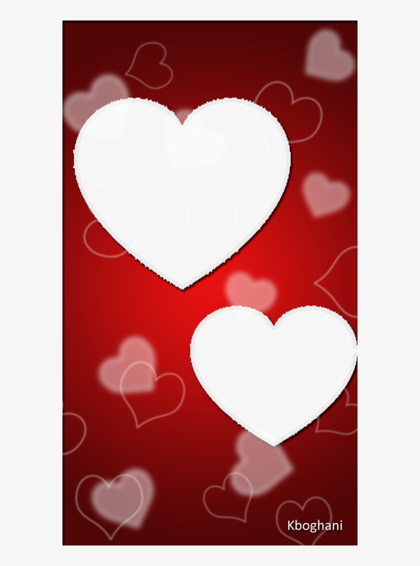 Valentines Day Heart Frame Free Png Image Heart Png Frame