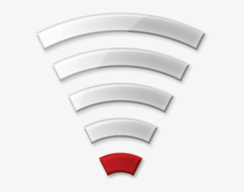 Very Poor Signal Free - Bad Wifi Transparent PNG - 600x600 - Free Download  on NicePNG