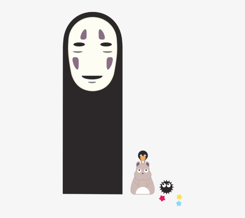 Spirited Away No Face Png Clipart Freeuse Library Spirited Away Simple Art Transparent Png 400x650 Free Download On Nicepng