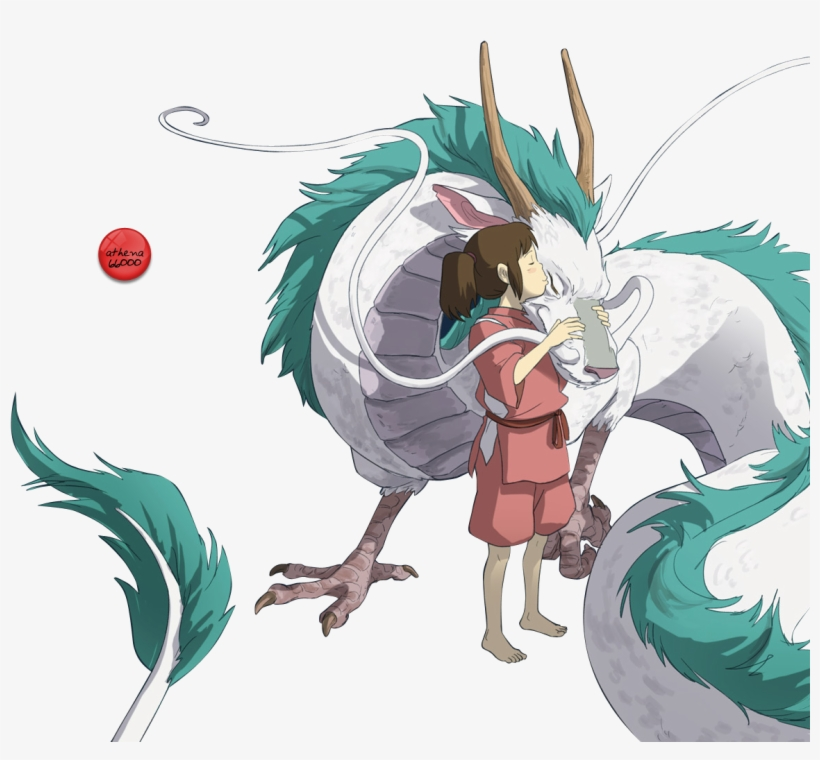 Haku From Spirited Away Dragon T Shirt Miyazaki Transparent Png 1244x1032 Free Download On Nicepng