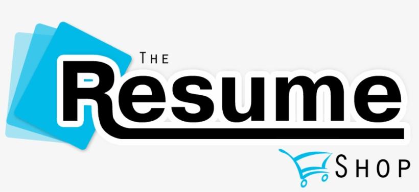 The Resume Shop Logo Resume Logo Transparent Png 956x394
