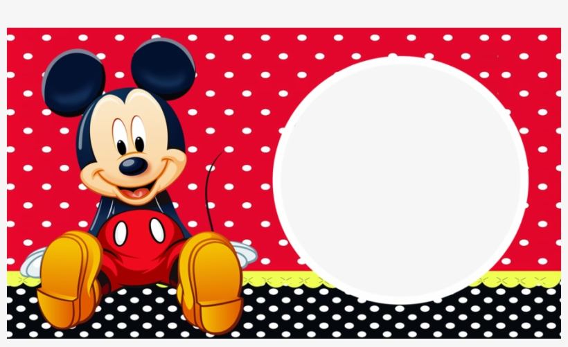 Download Marco Foto Mickey Clipart Mickey Mouse Picture Mickey Transparent Png 900x506 Free Download On Nicepng