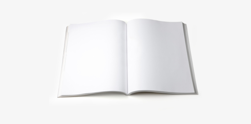Blank Mag - Sketch Pad Transparent PNG - 500x326 - Free
