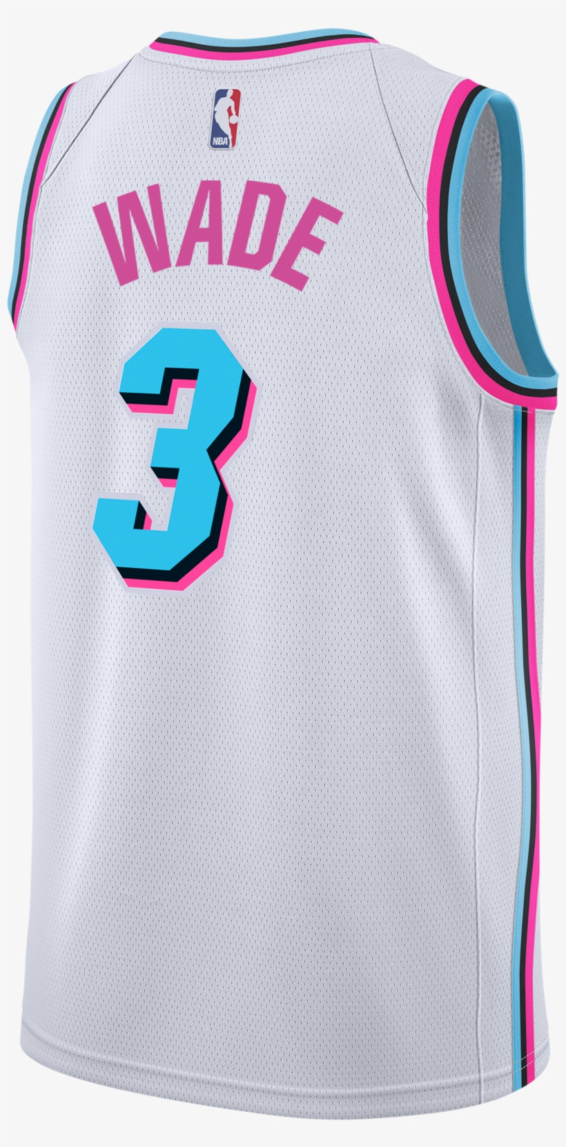 5617e13e838 Dwyane Wade Nike Miami Heat Vice Uniform City Edition - Jersey Miami Heat  2018