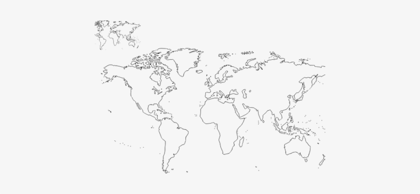 image relating to World Map Black and White Printable named Environment Map Contour Vector - Environment Map Determine Black And White