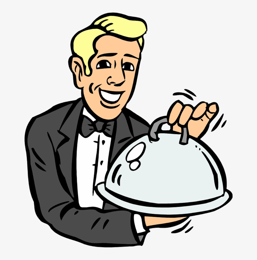 Hotel Waiter Clipart Fancy Dinner Clipart Transparent Png 664x750 Free Download On Nicepng