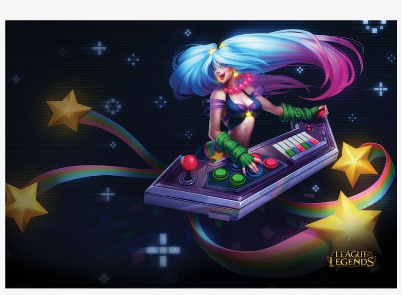 Arcade Sona - League Of Legends Sona Skins Transparent PNG