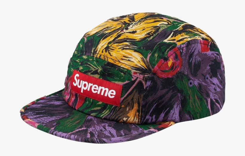 ddc28dddaaa Supreme Painted Floral Camp Cap - Painted Floral Camp Cap Supreme ...