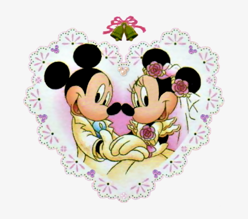 Mickey And Minnie Wedding.By Milliepie Mickey And Minnie Wedding Anniversary Transparent Png
