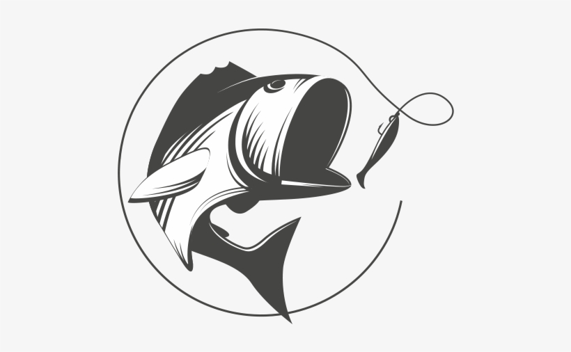 Fishing Line Png - Vintage Fishing Logo@nicepng.com