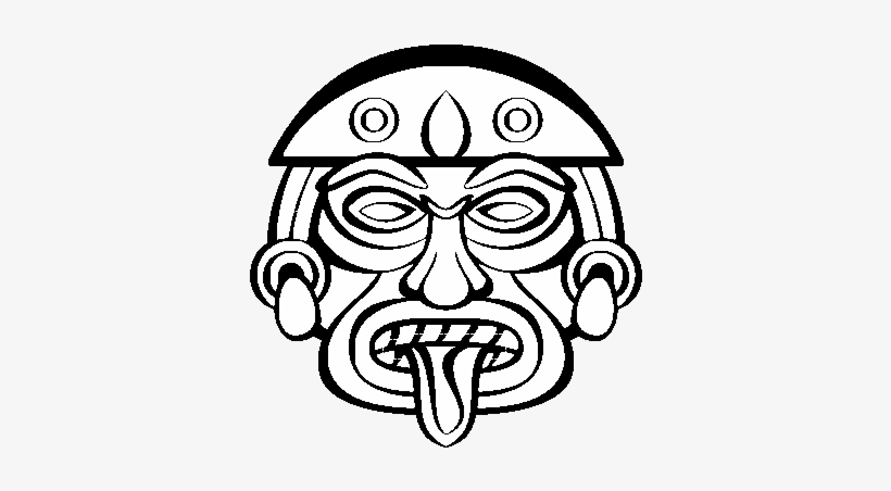 Aztec Art coloring page   Free Printable Coloring Pages   452x820
