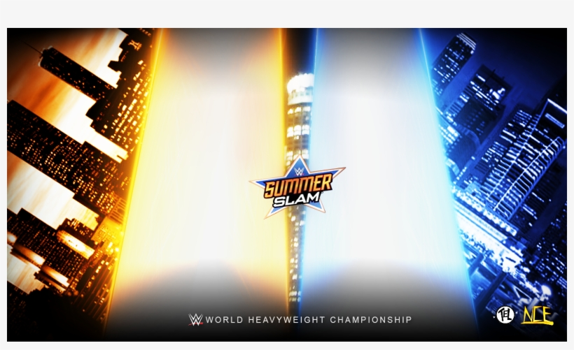 Wwe Match Card Template - Ronda Rousey Summerslam 2018