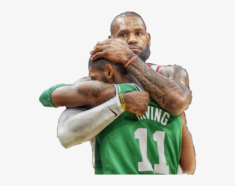 Lebronjames Lebron Cavs Cavaliers Kyrieirving Kyrie Lebron James Transparent Png 548x570 Free Download On Nicepng