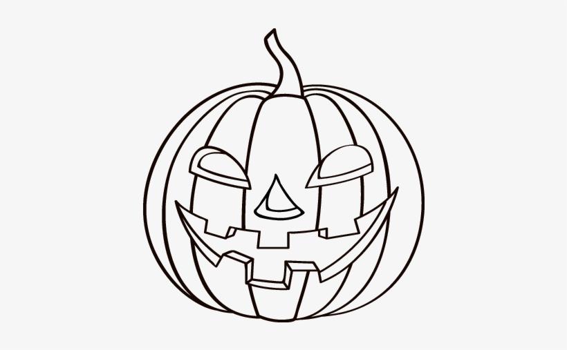 Calabazas De Halloween Para Colorear Transparent PNG - 600x470 ...